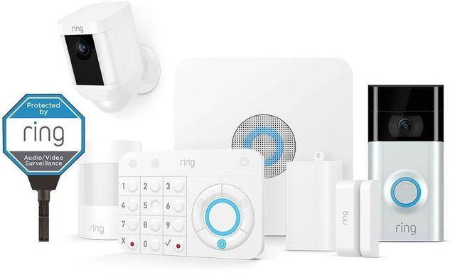 Ring White Alarm Deluxe Kit-17550711455833