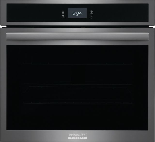 """Frigidaire Gallery 30"""" Smudge-Proof® Black Stainless Steel Single Electric Wall Oven-GCWS3067AD"""