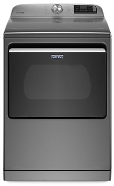 Maytag® 7.4 Cu. Ft. Metallic Slate Front Load Electric Dryer-YMED7230HC