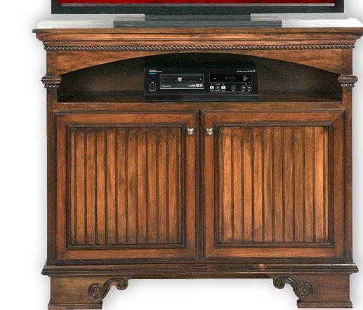 American Heartland Poplar Deluxe TV Stand-16045