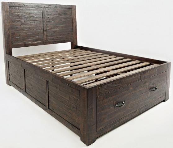 Jofran Inc. Jackson Lodge Youth Full Storage Bed-1605-757667KT