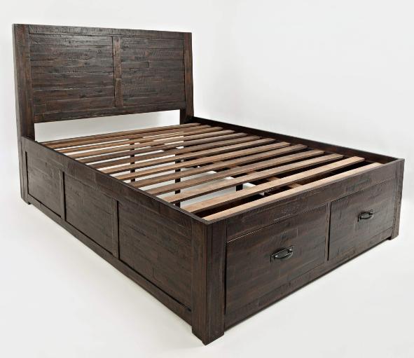 Jofran Inc. Jackson Lodge Youth Queen Storage Bed-1605-858687KT