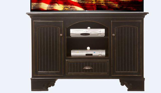 American Heartland Poplar Deluxe TV Stand-16056