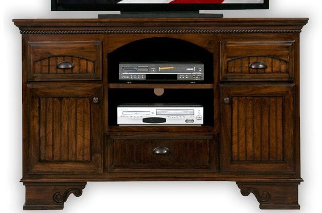 American Heartland Poplar Deluxe TV Stand-16057