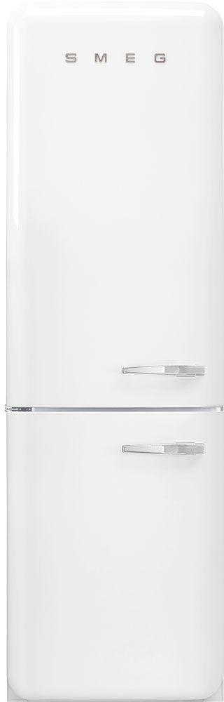 Smeg 50's Retro Style Aesthetic 11.69 Cu. Ft. White Bottom Freezer Refrigerator-FAB32ULWH3