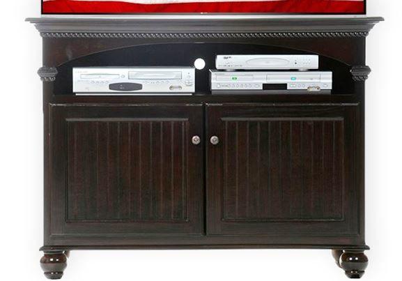 American Heartland Poplar Deluxe TV Stand-16145