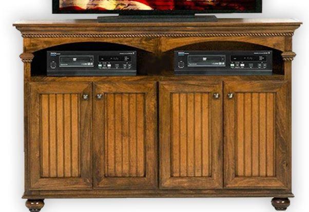 American Heartland Poplar Deluxe TV Stand-16155