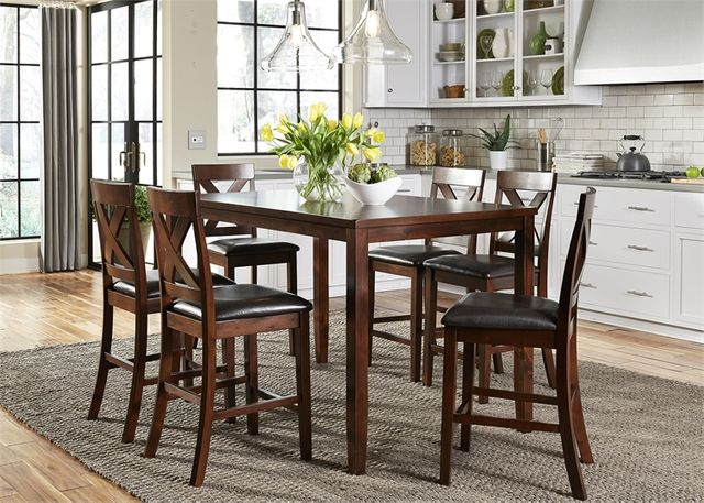 Liberty Furniture Thornton Dining 7 Piece Gathering Table Set-164-CD-7GTS
