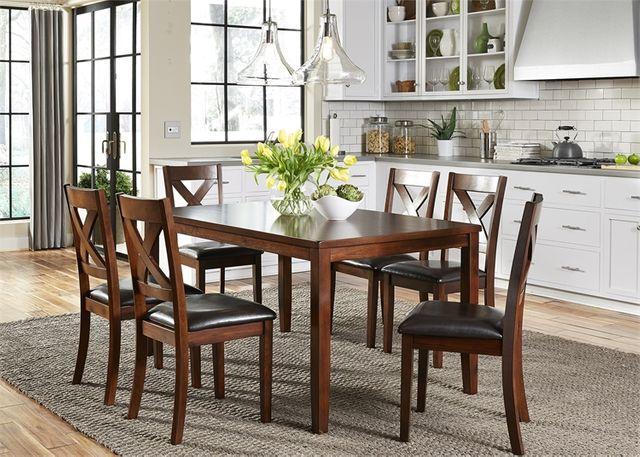 Liberty Furniture Thornton Dining 7 Piece Rectangular Table Set-164-CD-7RLS