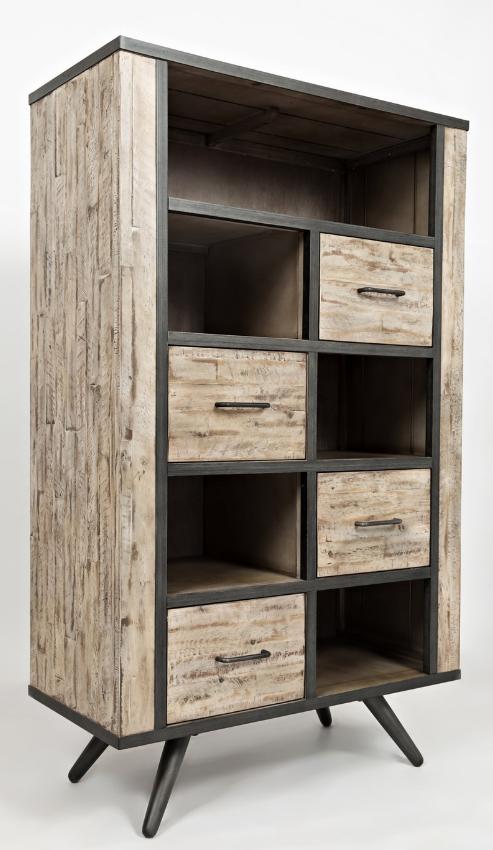 Jofran Inc. American Retrospective Bookcase-1640-36