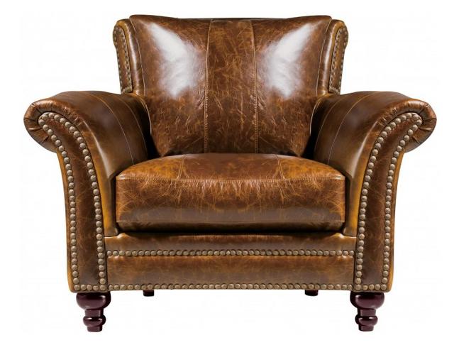 Leather Italia Georgetowne Butler Chair-1669-2239-015507