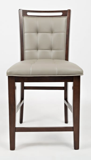 Jofran Inc. Manchester Upholstered Counter Stool-1672-BS385KD