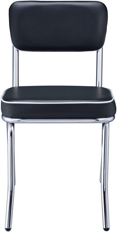 Coaster® Retro Black Chair-2066