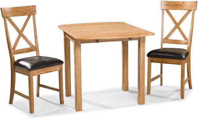 Intercon Family Dining Chestnut Four Leg Dining Table-FD-TA-L3678-CNT-C