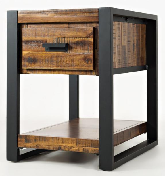Jofran Inc. Loftworks Chairside Table-1690-7