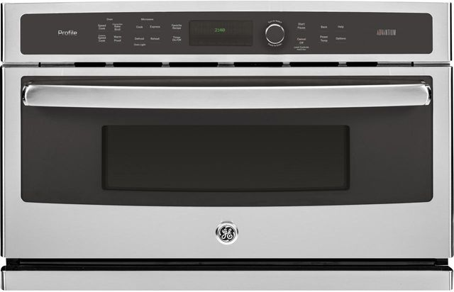 """GE Profile™ 29.78"""" Stainless Steel Electric Single Oven Built In-PSB9240SFSS"""