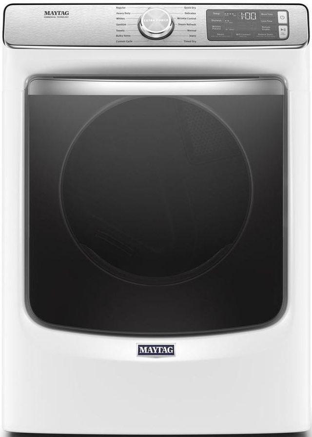 Maytag® 7.3 Cu. Ft. White Front Load Electric Dryer-MED8630HW