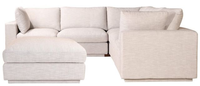 Sectionnel modulaire Justin en tissu taupe Moe's Home Collections®-RN-1098-39