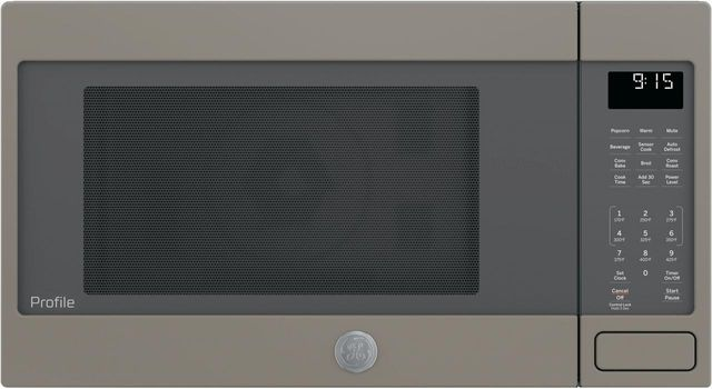 GE Profile™ 1.5 Cu. Ft. Slate Countertop Convection/Microwave Oven-PEB9159EJES