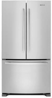 JennAir® 20.0 Cu. Ft. Counter Depth French Door Refrigerator-Stainless Steel-JFC2089BEM