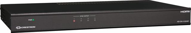 Crestron® Quad 1-To-2 HDMI® Distribution Amplifier-HD-DA-2-QUAD