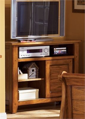 Liberty Furniture Grandpas Cabin Aged Oak Youth  Media Chest-175-BR49