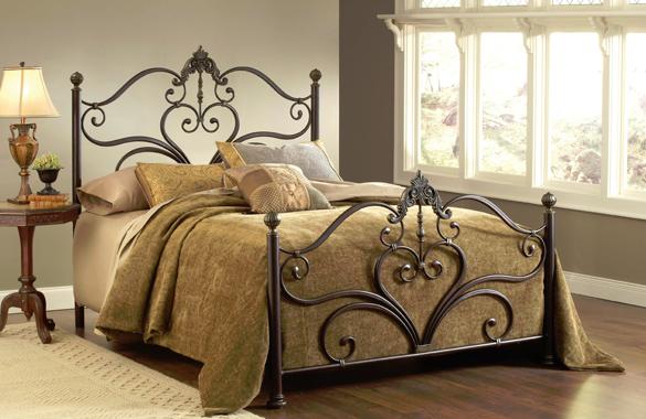 Hillsdale Furniture Newton Queen Bed-1756-500