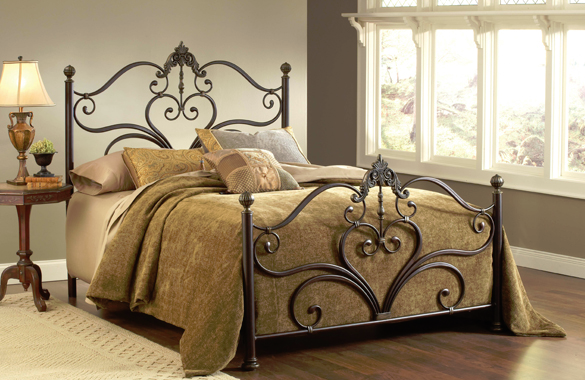 Hillsdale Furniture Newton King Bed-1756-660