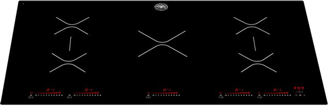 "Bertazzoni Professional Series 36"" Black Induction Cooktop-P365IAE"