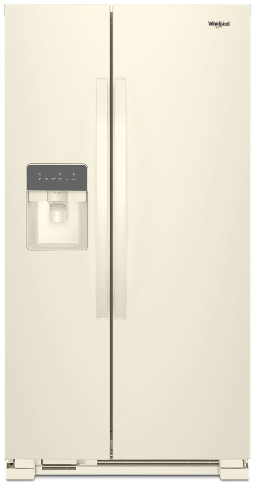 Whirlpool® 21.4 Cu. Ft. Biscuit Side-By-Side Refrigerator-WRS311SDHT
