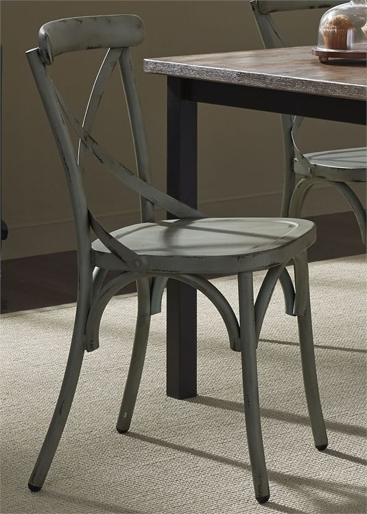 Liberty Vintage Dining Green Side Chair-179-C3005-G