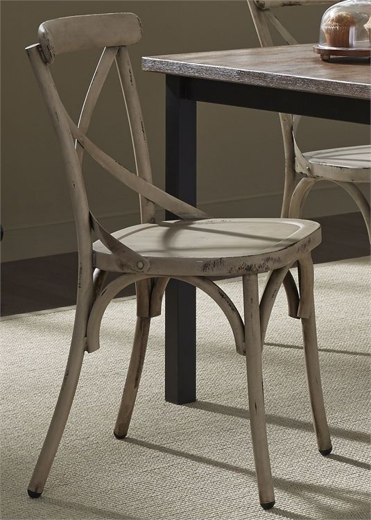 Liberty Vintage Dining White Side Chair-179-C3005-W