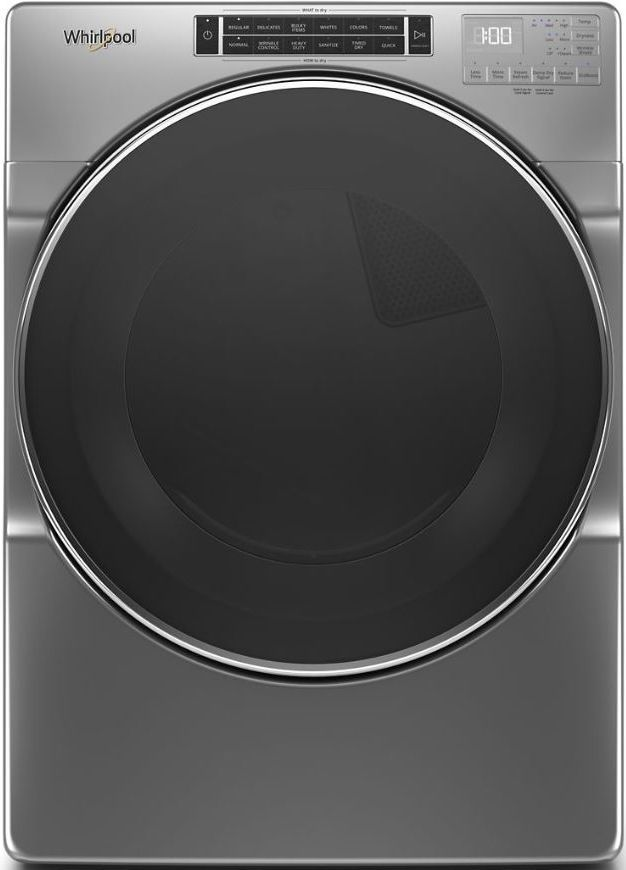 Whirlpool® 7.4 Chrome Shadow Front Load Gas Dryer-WGD8620HC