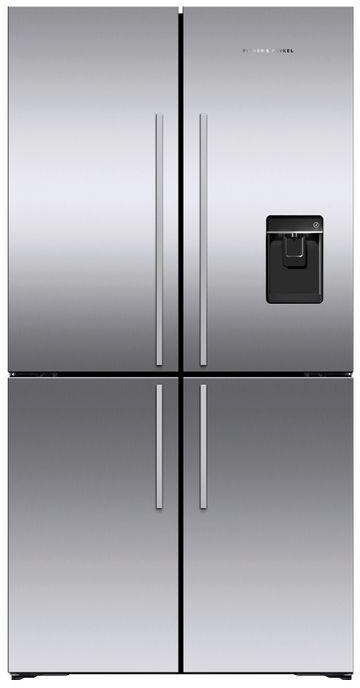 Réfrigérateur à portes françaises de 36 po Fisher Paykel® de 19,0 pi³ - Acier inoxydable-RF203QDUVX1