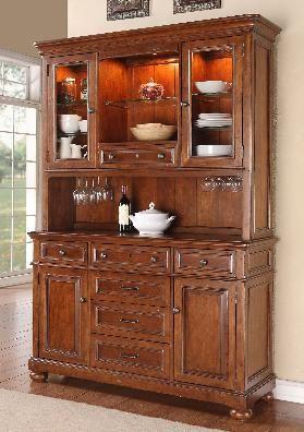 Wynwood American Heritage Sideboard Hutch-1809-261