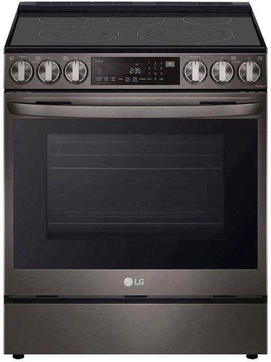 LG 6.3 Cu. Ft. Black Stainless Steel Slide-In Electric Range -LSEL6335D
