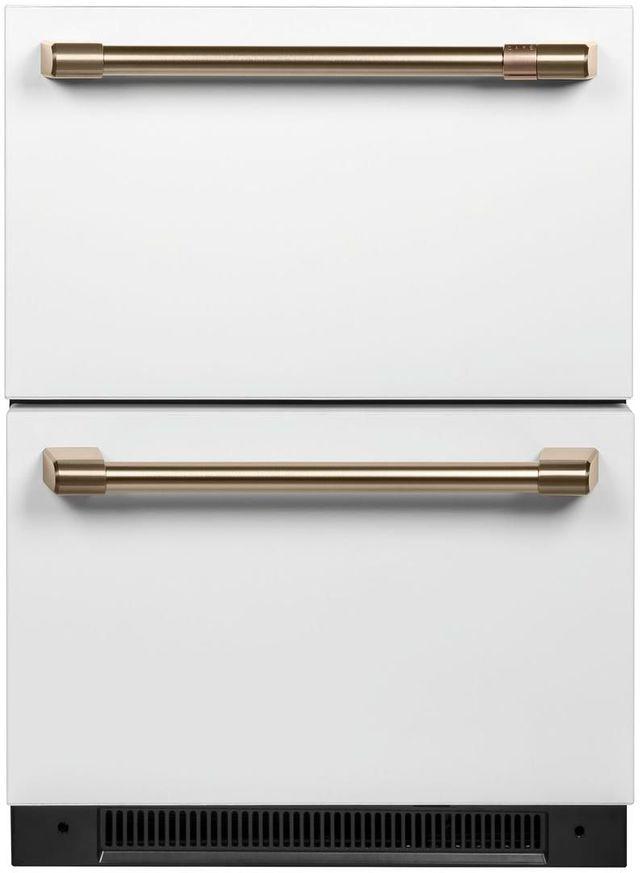 Réfrigérateur sous le comptoir de 24 po Cafe™ de 5,7 pi³ - Blanc mat-CDE06RP4NW2