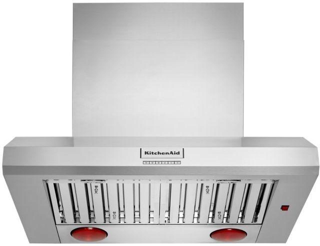 "KitchenAid® 36"" Stainless Steel Wall Hood-KVWC956KSS"