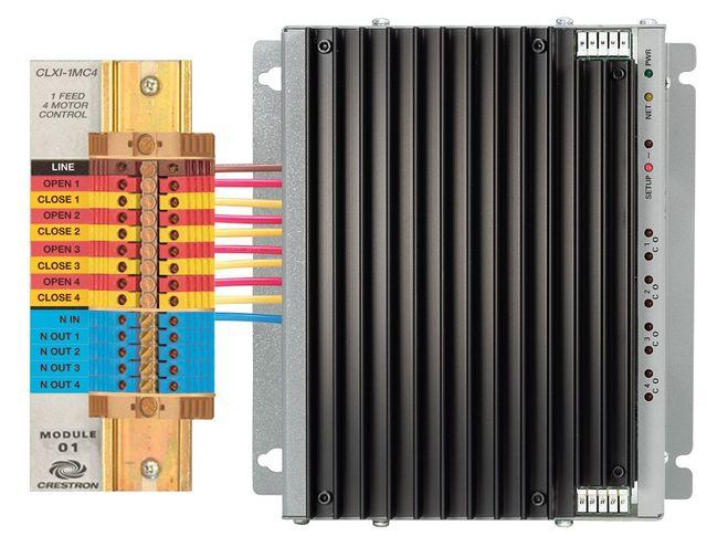 Crestron® 4 Channel Motor Control Module-International Version-CLXI-1MC4