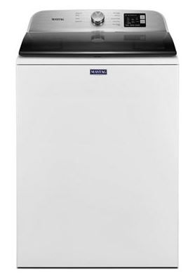 Maytag® 4.8 Cu. Ft. White Top Load Washer-MVW6200KW