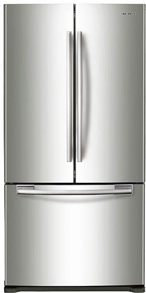 Samsung 20 Cu. Ft. French Door Refrigerator-Stainless Steel-RF20HFENBSR