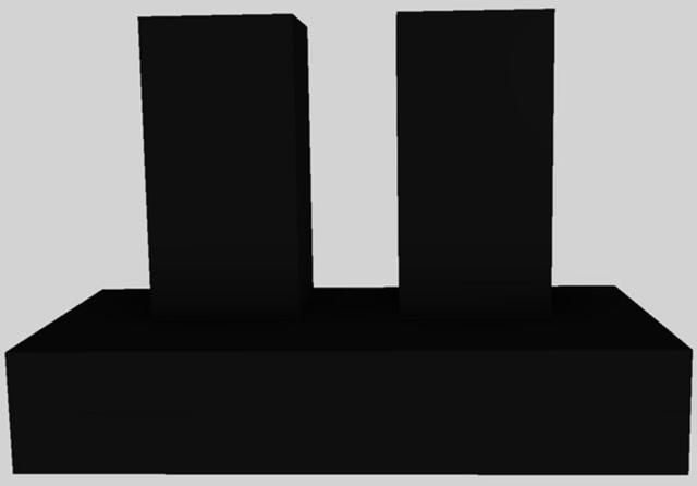 "Vent-A-Hood® 48"" Contemporary Wall Mounted Range Hood-Black-CWEH9-348 BL"