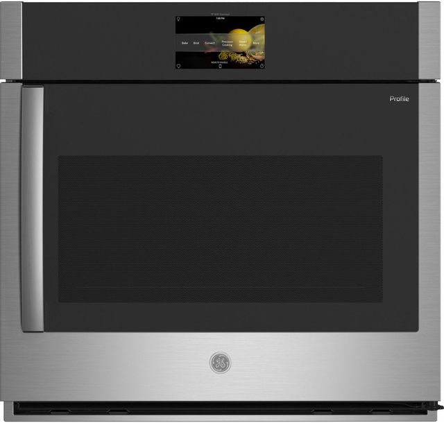 """GE Profile™ 30"""" Smart Built-In Convection Single Stainless Steel Wall Oven-PTS700RSNSS"""
