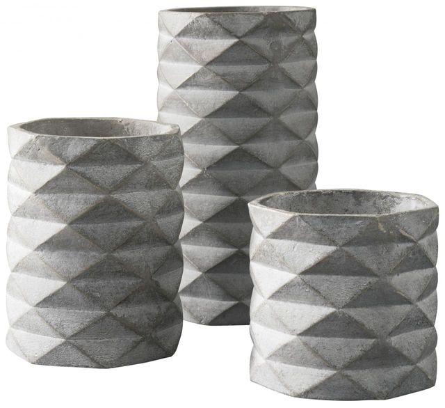 Signature Design by Ashley® Charlot Gray Vase Set-A2000312