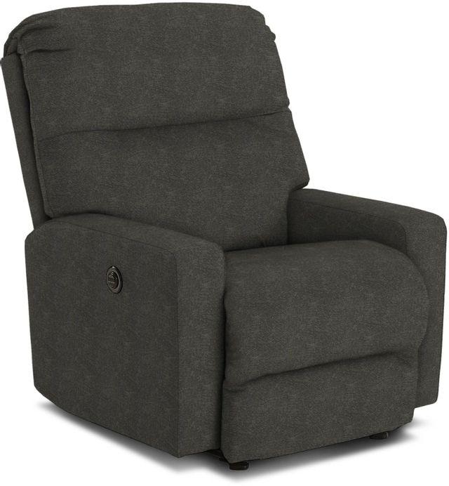 Best Home Furnishings® Kenley Smoke Rocker Recliner-5N17-20143