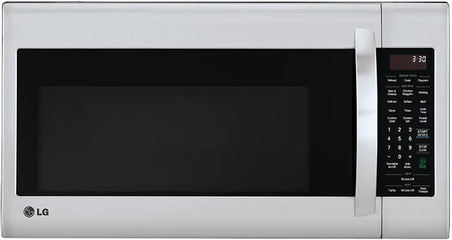 Four à micro-ondes à hotte intégrée LG® de 2,0 pi³ de 30 po - Acier inoxydable-LMV2053ST