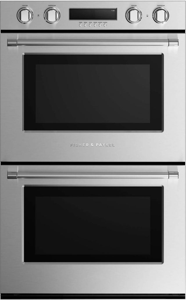 """Fisher Paykel Professional 30"""" Electric Double Oven Built In-Stainless Steel-WODV230 N-WODV230 N"""