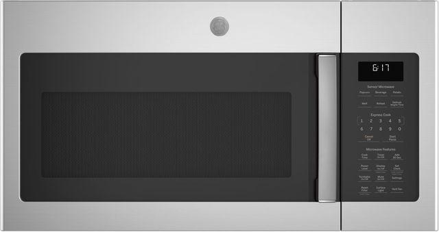 Ge Series Over The Range Sensor Microwave Oven Stainless Steel Jvm6175skss Phillips Supply Greenville Sc