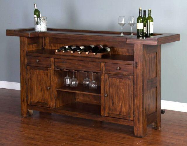 "Sunny Designs Tuscany 78"" Bar-1959VM"