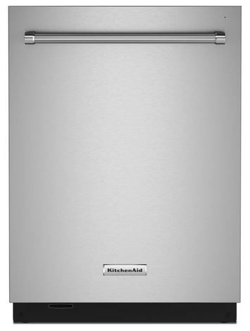 """KitchenAid® 24"""" PrintShield™ Stainless Steel Built In Dishwasher-KDTM804KPS"""